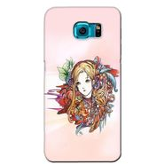 Snooky 36258 Digital Print Hard Back Case Cover For Samsung Galaxy S6 Edge - Multicolour