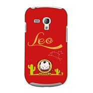Snooky 36831 Digital Print Hard Back Case Cover For Samsung Galaxy S3 Mini - Red