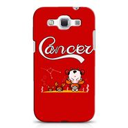 Snooky 38232 Digital Print Hard Back Case Cover For Samsung Galaxy Grand Quattro GT-I8552 - Red