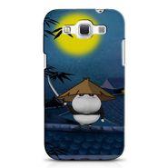 Snooky 38260 Digital Print Hard Back Case Cover For Samsung Galaxy Grand Quattro GT-I8552 - Blue
