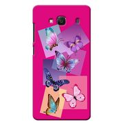 Snooky 36034 Digital Print Hard Back Case Cover For Xiaomi Redmi 2s - Pink