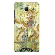 Snooky 36037 Digital Print Hard Back Case Cover For Xiaomi Redmi 2s - Green