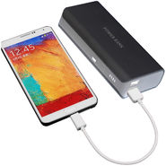 UNIC 15000mah Stylish Dual USB Portable Mobile Charger UN15K1 - Black