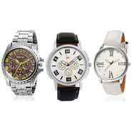 Pack of 3 Branded Stylish Watches_107