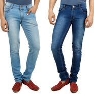 Pack of 2 Cotton Jeans For Men_F200452