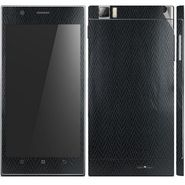 Snooky 18724 Mobile Skin Sticker For Lenovo K900 - Black