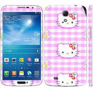 Snooky 39608 Digital Print Mobile Skin Sticker For Samsung Galaxy Mega 6.3 - Pink