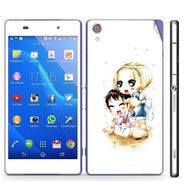 Snooky 39757 Digital Print Mobile Skin Sticker For Sony Xperia Z2 - White