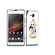Snooky 39829 Digital Print Mobile Skin Sticker For Sony Xperia Sp M35h C5302 - White