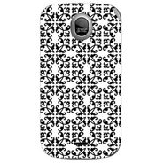 Snooky 40330 Digital Print Mobile Skin Sticker For Micromax Ninja A89 - White