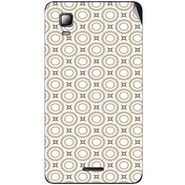 Snooky 40543 Digital Print Mobile Skin Sticker For Micromax Canvas Doodle 3 A102 - Brown