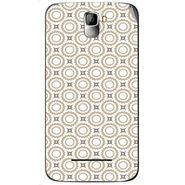Snooky 40557 Digital Print Mobile Skin Sticker For Micromax Canvas Entice A105 - Brown
