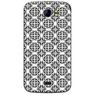 Snooky 40584 Digital Print Mobile Skin Sticker For Micromax Canvas 2 A110 - White