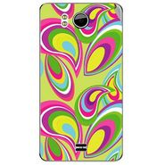 Snooky 40603 Digital Print Mobile Skin Sticker For Micromax Canvas Doodle A111 - multicolour