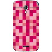 Snooky 40633 Digital Print Mobile Skin Sticker For Micromax Canvas Magnus A117 - Purple