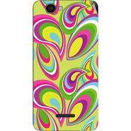 Snooky 40645 Digital Print Mobile Skin Sticker For Micromax Canvas 2 Colors A120 - multicolour