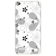 Snooky 40764 Digital Print Mobile Skin Sticker For Micromax Canvas Hue AQ5000 - White