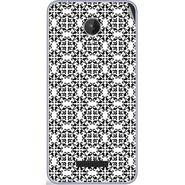 Snooky 40780 Digital Print Mobile Skin Sticker For Micromax Canvas Spark Q380 - White
