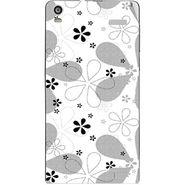 Snooky 40918 Digital Print Mobile Skin Sticker For XOLO A1000S - White