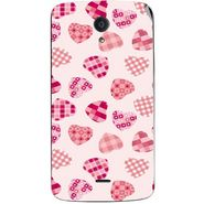 Snooky 40956 Digital Print Mobile Skin Sticker For XOLO Omega 5.5 - White