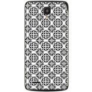 Snooky 41018 Digital Print Mobile Skin Sticker For XOLO Q700 - White