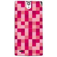 Snooky 41123 Digital Print Mobile Skin Sticker For XOLO Q1010i - Purple