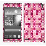 Snooky 41293 Digital Print Mobile Skin Sticker For Huawei Ascend P6 - Pink
