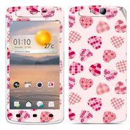 Snooky 41320 Digital Print Mobile Skin Sticker For OPPO N1 Mini - White