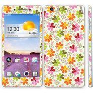 Snooky 41342 Digital Print Mobile Skin Sticker For OPPO R1 R829t - White