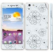 Snooky 41351 Digital Print Mobile Skin Sticker For OPPO R1 R829t - Grey