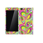 Snooky 41359 Digital Print Mobile Skin Sticker For OPPO R5 - multicolour