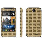 Snooky 41372 Digital Print Mobile Skin Sticker For HTC Desire 310 - Brown