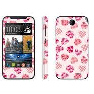Snooky 41376 Digital Print Mobile Skin Sticker For HTC Desire 310 - White