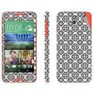 Snooky 41382 Digital Print Mobile Skin Sticker For HTC Desire 610 - White