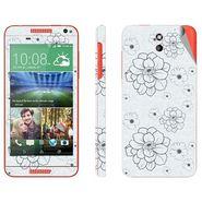Snooky 41393 Digital Print Mobile Skin Sticker For HTC Desire 610 - Grey