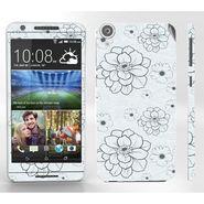 Snooky 41407 Digital Print Mobile Skin Sticker For HTC Desire 820 - Grey