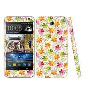 Snooky 41440 Digital Print Mobile Skin Sticker For HTC Desire 616 - White