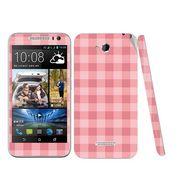 Snooky 41444 Digital Print Mobile Skin Sticker For HTC Desire 616 - Pink