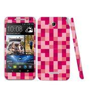 Snooky 41445 Digital Print Mobile Skin Sticker For HTC Desire 616 - Purple