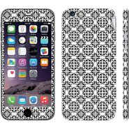 Snooky 41536 Digital Print Mobile Skin Sticker For Apple Iphone 6 - White