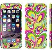 Snooky 41541 Digital Print Mobile Skin Sticker For Apple Iphone 6 - multicolour