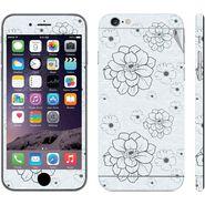 Snooky 41547 Digital Print Mobile Skin Sticker For Apple Iphone 6 - Grey