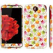 Snooky 41580 Digital Print Mobile Skin Sticker For Lenovo S820 - White