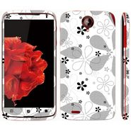 Snooky 41590 Digital Print Mobile Skin Sticker For Lenovo S820 - White