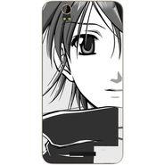 Snooky 41833 Digital Print Mobile Skin Sticker For Lava Iris X1 Grand - Grey