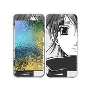 Snooky 41878 Digital Print Mobile Skin Sticker For Samsung Galaxy E7 - Grey