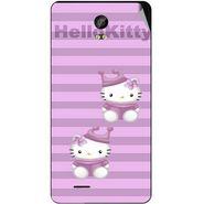 Snooky 42040 Digital Print Mobile Skin Sticker For Intex Aqua Life 2 - Pink