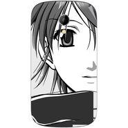 Snooky 42230 Digital Print Mobile Skin Sticker For Intex Aqua T2 - Grey