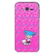 Snooky 42374 Digital Print Mobile Skin Sticker For Intex Cloud Y5 - Pink