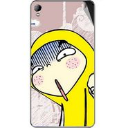 Snooky 46385 Digital Print Mobile Skin Sticker For Micromax A104 Canvas Fire 2 - Multicolour